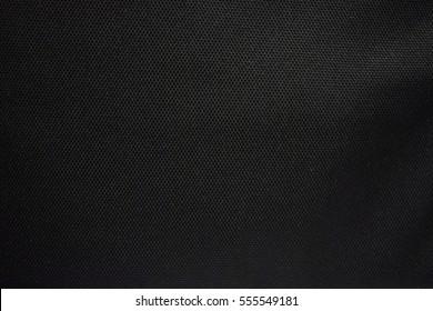 Fabric texture cloth black