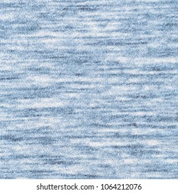 Fabric texture. Melange light blue color background.