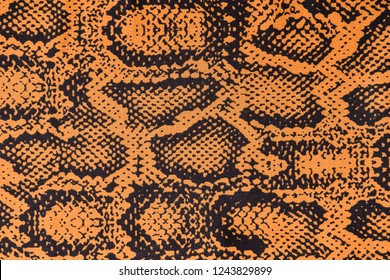 fabric texture in snake pattern style-sundress texture
