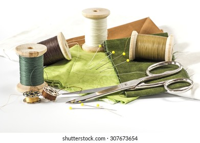 Fabric, Thread and other sewing tools