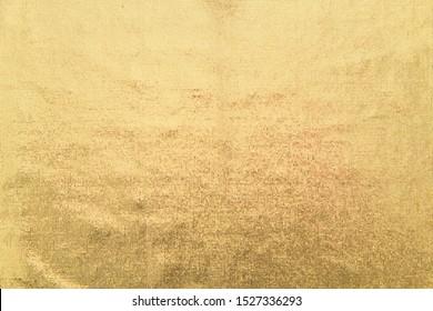 Fabric vinyl gold background texture