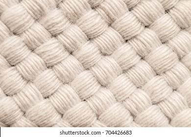 Fabric, weave, close-up, macro