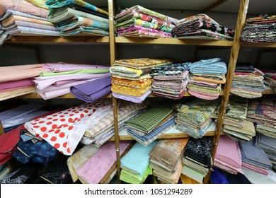 fabrics are sold in the store