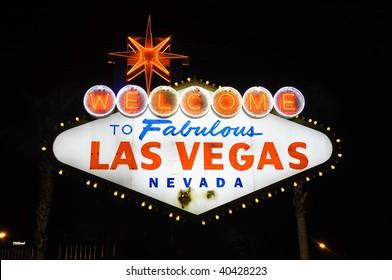 The Fabulous Las Vegas sign