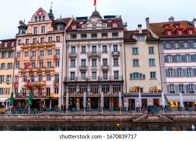 Fabulous Lucern town, Switzerland, Europe