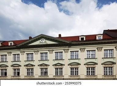 Facade of Bellevue Palace, Berlin.