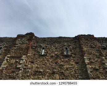 Facade of the Castle museum in Colchester, Essex, UK.