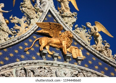 Facade of the Cathedral of San Marco, Venice, Italy