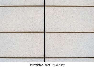 Facade Composite Panels as Background. Symmetry