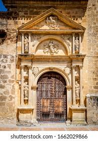 facade of the convent of Agustinas de Almansa