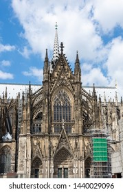 Facade of the famous Cologne Cathedral