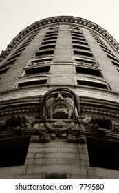 The facade of the famous Turk's Head building in Providence, RI, USA.