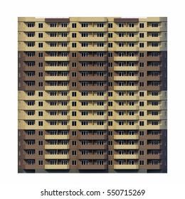 facade of house, house facade