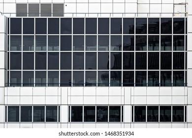 Facade of a modern buiding