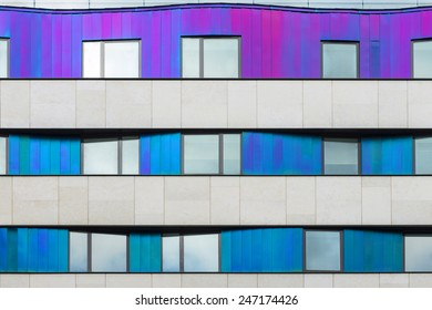 Facade of Modern Building, London, UK