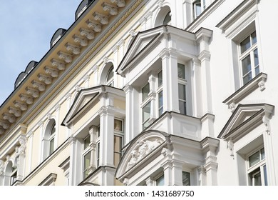 Facade of an old building in Munich