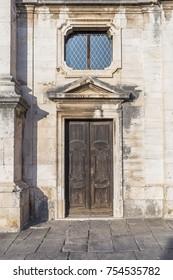 Facade of an old Mediterranean house