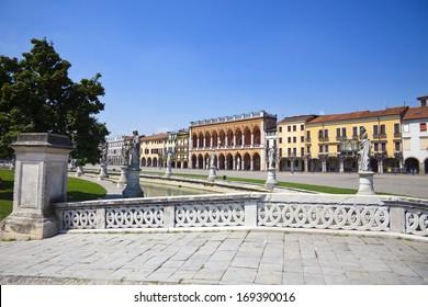 Facade from Padua, Italy