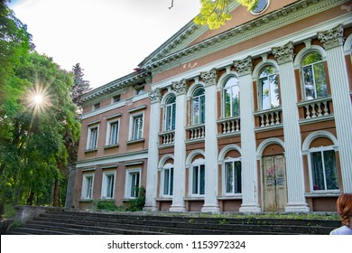 facade of the palace