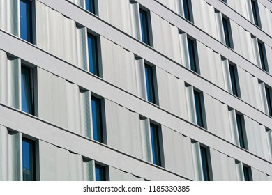 Facade of a residential building in the city center of Berlin