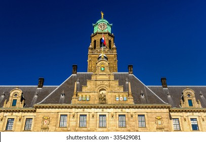 Facade of Rotterdam City Hall, Netherlands