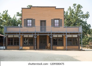 Facade of a saloon used for movies