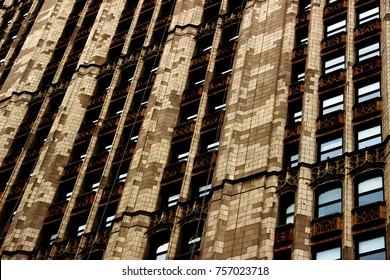 Facade of Skyscrapers in NYC, Textures