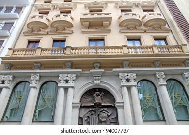 Facade, Teruel,Aragon,Spain