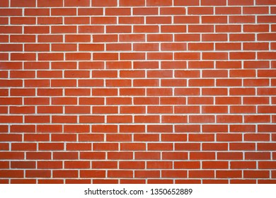 facade view of brick wall background