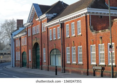facade of William Morris' first garage in Oxford on of the top ten of important sites that have shaped England's trade and industry where he built his first motor car the Oxford Bullnose in 1912