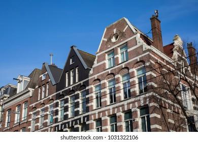 facades in Amsterdam