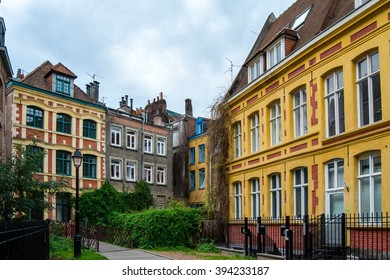 Facades in Lille, France