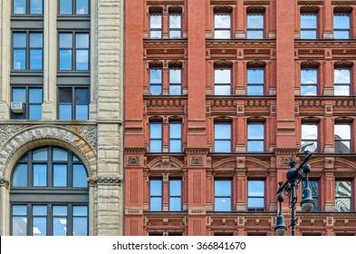 Facades in New York