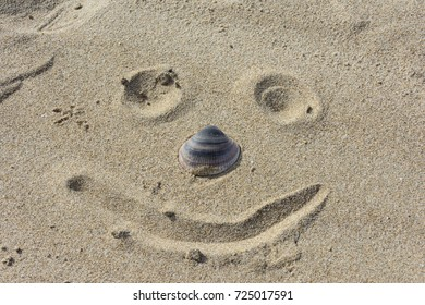Face of beach sand.