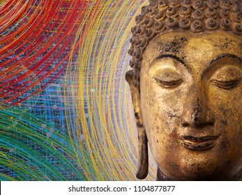 buddha painting images stock photos vectors shutterstock