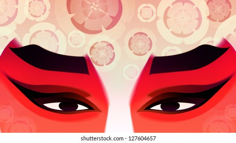 Face of Chinese Opera