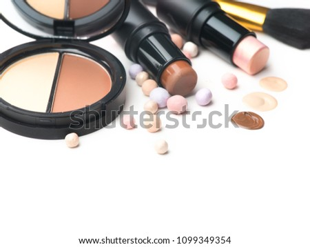 face contouring makeup contour highlight shade の写真素材 今すぐ