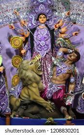face of durga thakur, Durga Thakur of Kolkata