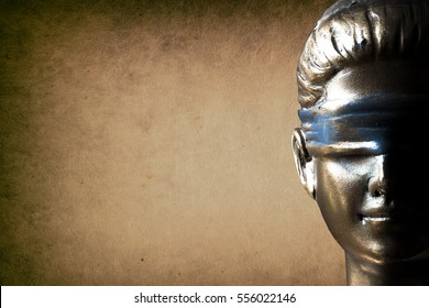 Face of Lady Justice
