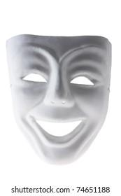 Face Mask on White Background