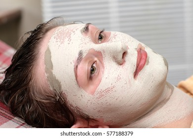 Face pack for oily skin, beauty parlour