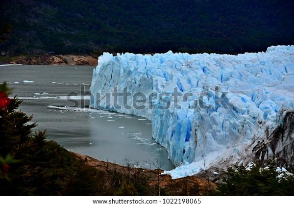 Face of Perito Moreno Glacier