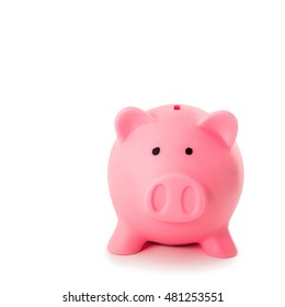 Face of Pink piggy bank