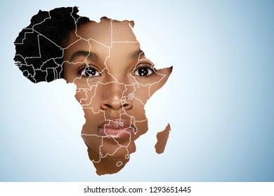 Africa Map with Pattern Images, Stock Photos & Vectors | Shutterstock