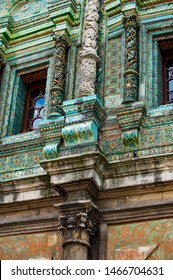 Faced on the outer facade with majolica tiles Teremok was built in the late 17th century by architect Larion Kovalev, tiles and carved columns made Josip Elders with their sons