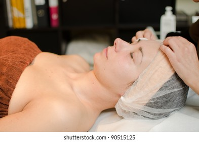 Facial mask for woman