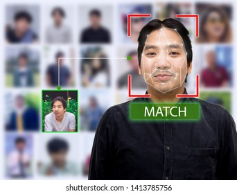 Facial Recognition System Analyze by face database