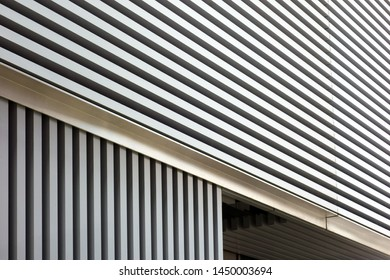 Facility of metal blindfold fence