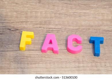 It is a fact