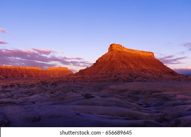 Factory Butte at Dawn, Caineville, UT